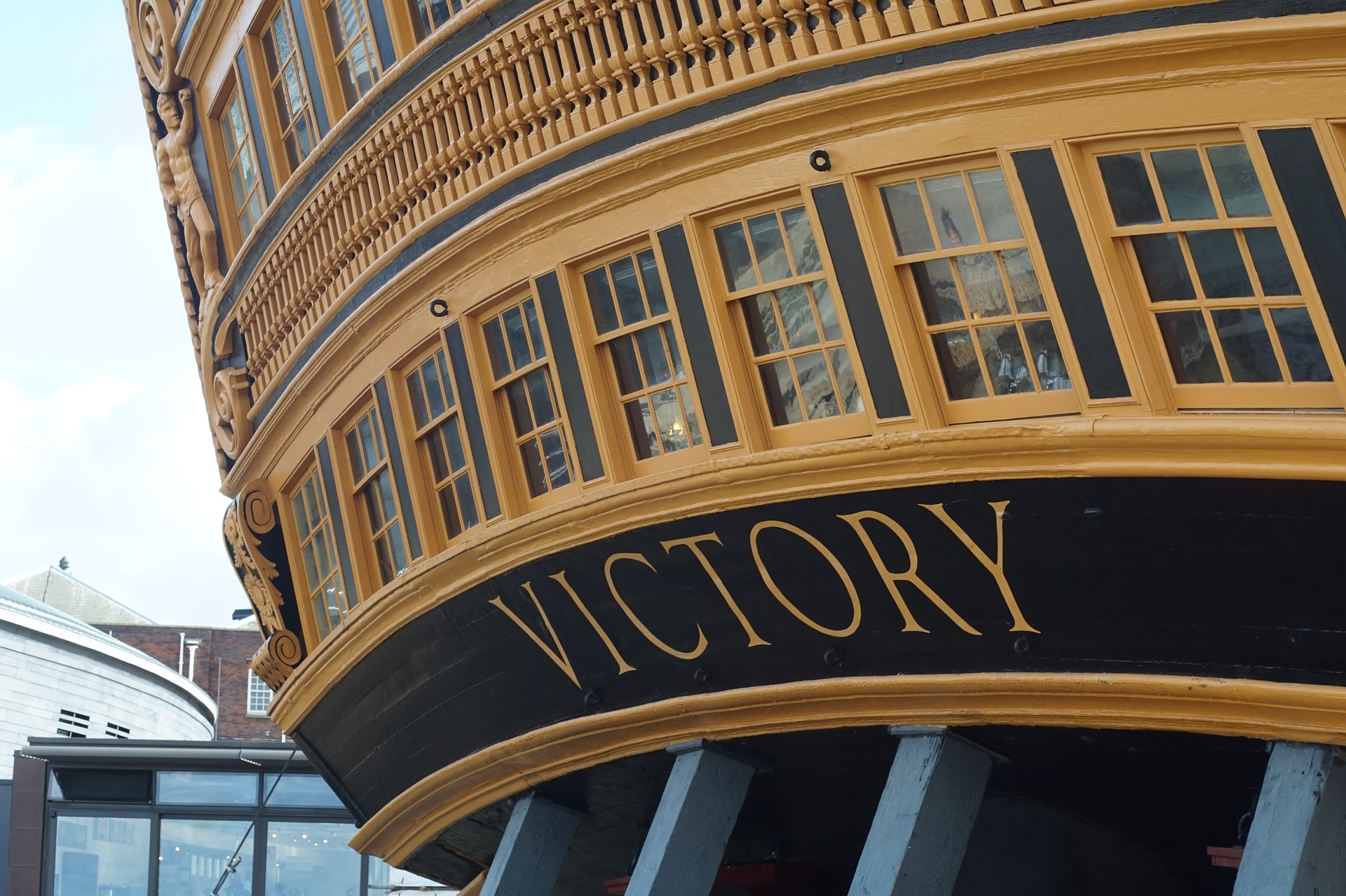 HMS Victory Portsmouth Port