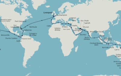 Borealis World Cruise 2022 – brand-new itinerary from Fred. Olsen Cruise Lines