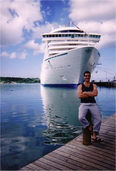 Andy Harmer CLIA No Fly Cruises