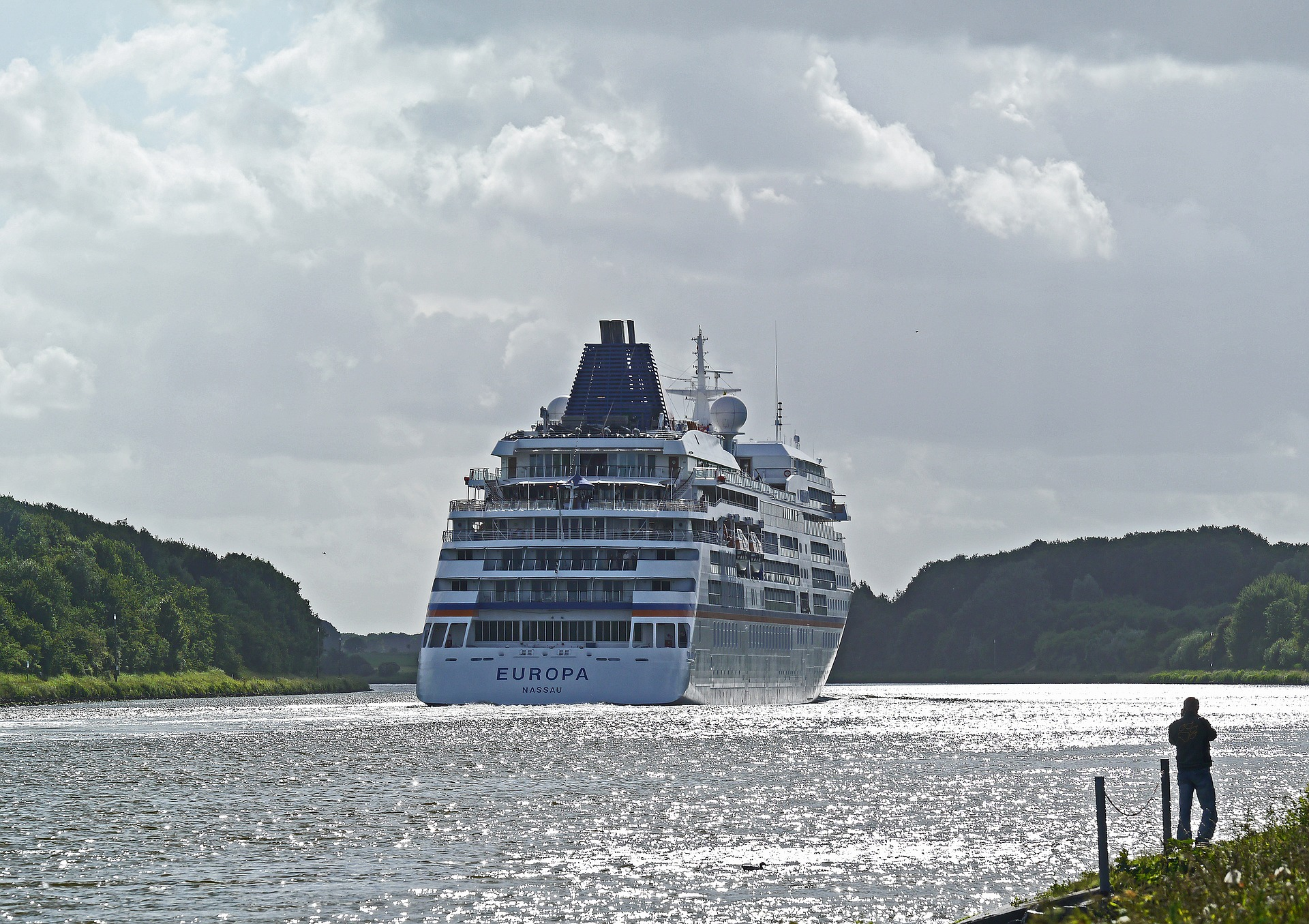 Kiel Canal Transit cruise experience