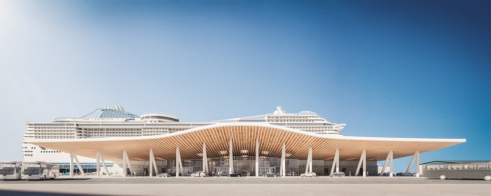 New Southampton cruise terminal will allow next-gen ships to 'plug in' while alongside