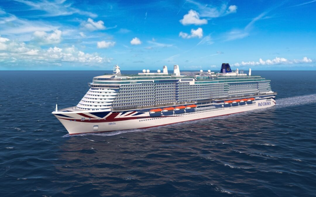 "P&O Cruises names new ship Arvia as a ""fitting celebration of the seashore"""