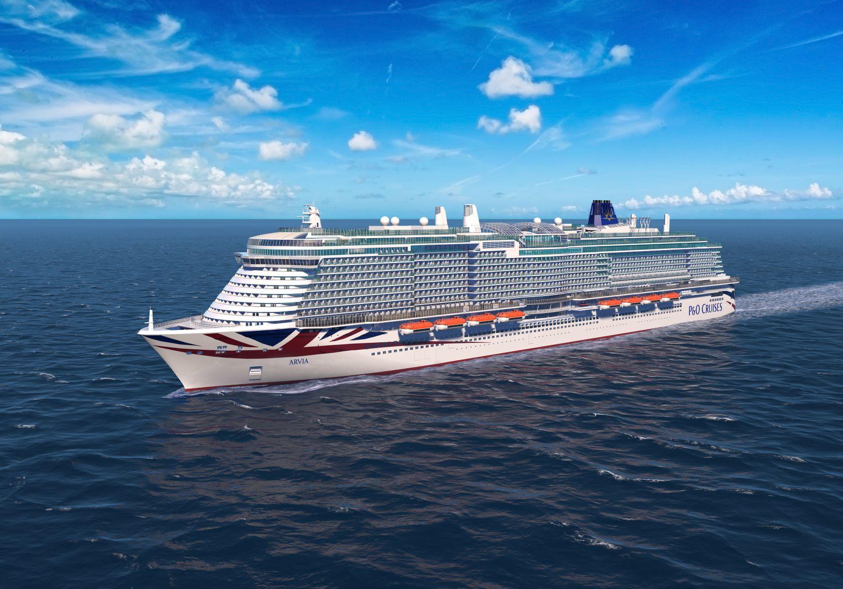 Arvia cruise ship