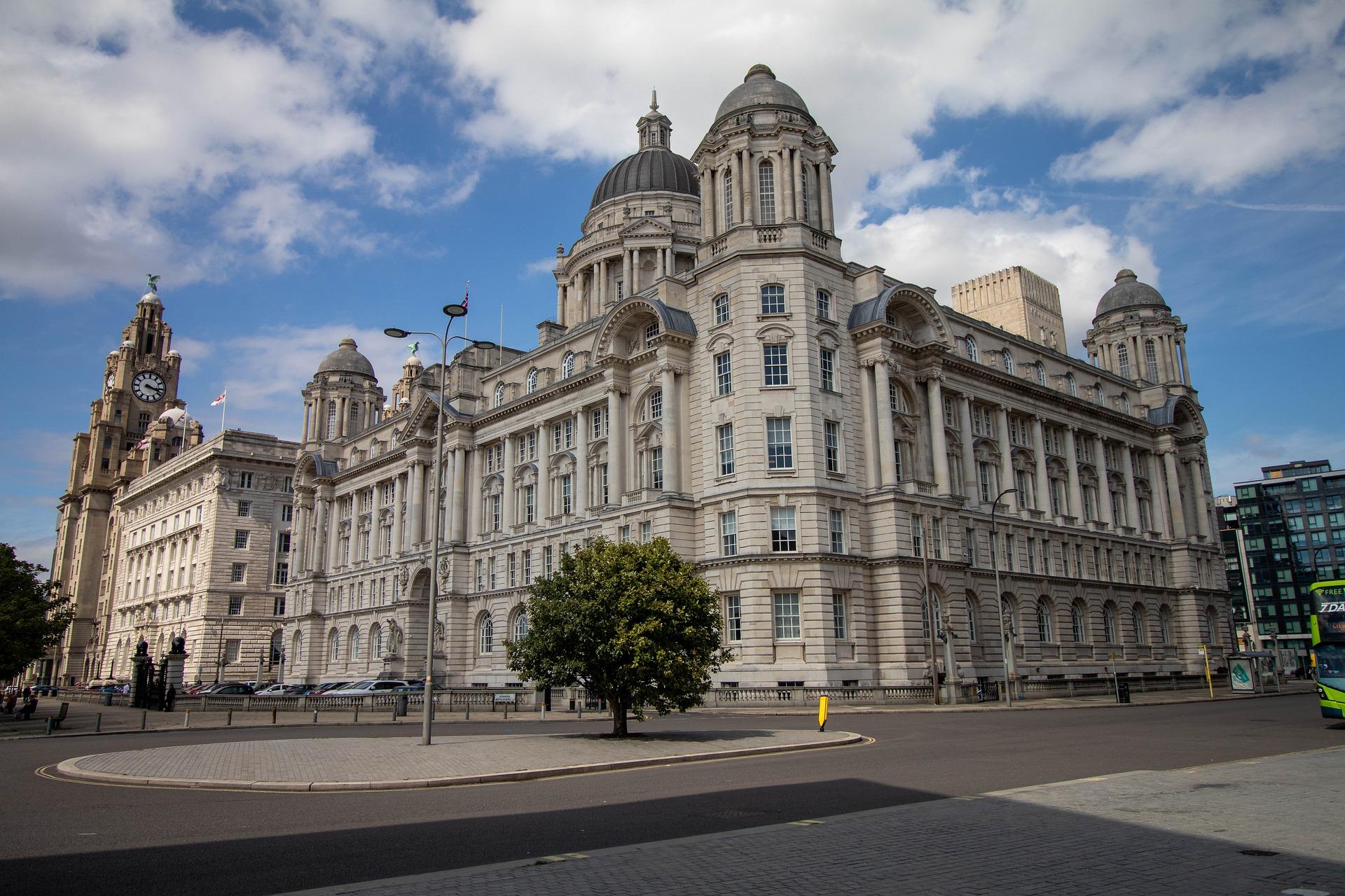 Liverpool Cunard Building Three Graces