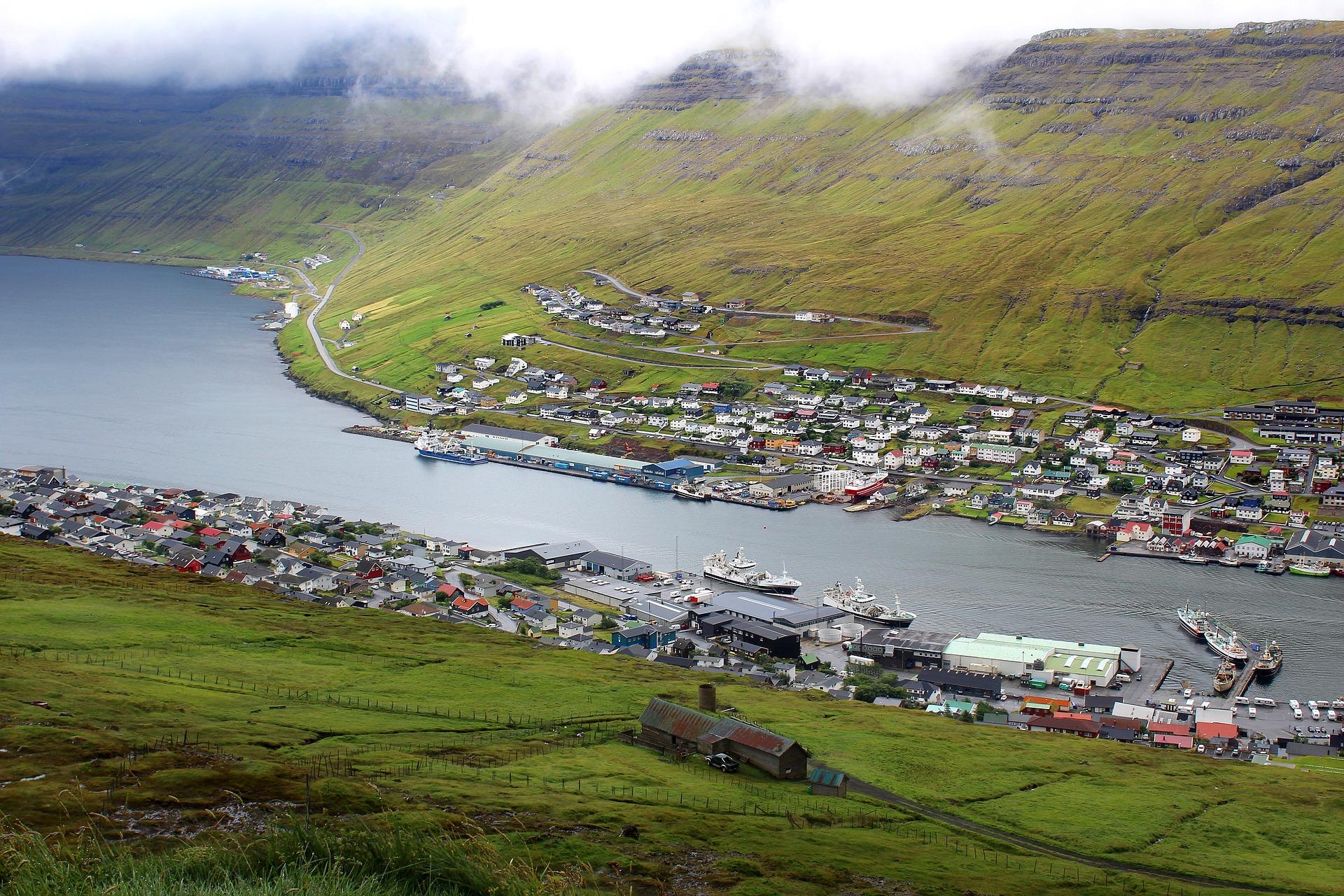 Klaksvik Port Faroe Islands