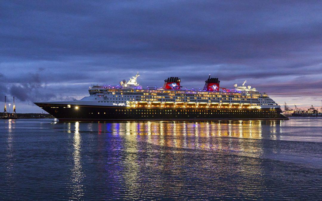 "Disney Magic calls at Southampton ahead of ""Disney Magic at Sea"" sailings this summer"