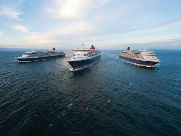 Cunard announces several new sailings from the UK