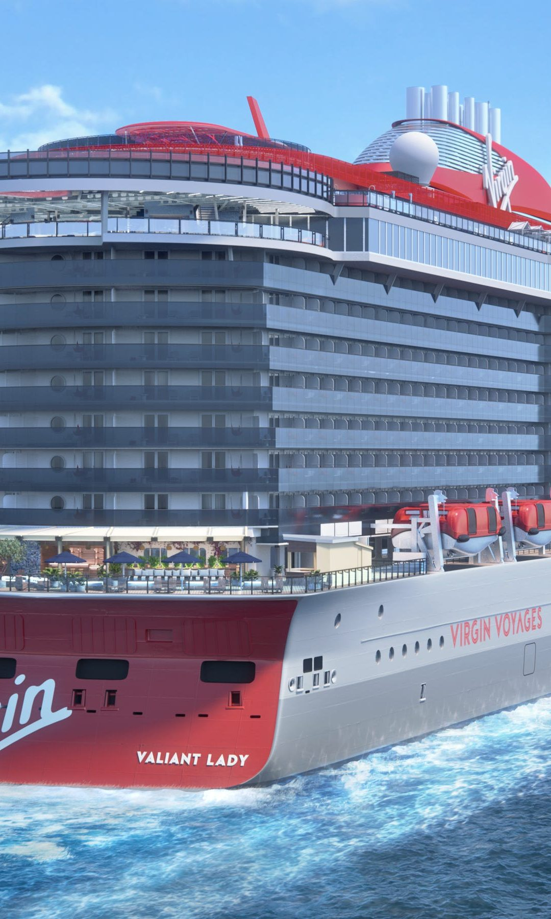Virgin Voyages' Valiant Lady to debut in the UK in 2022