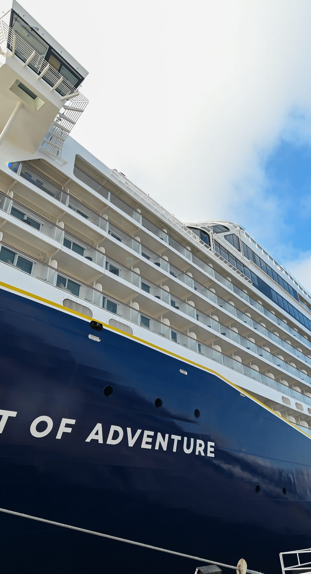 A closer look at Saga's newest ship 'Spirit of Adventure' following her naming ceremony in Portsmouth