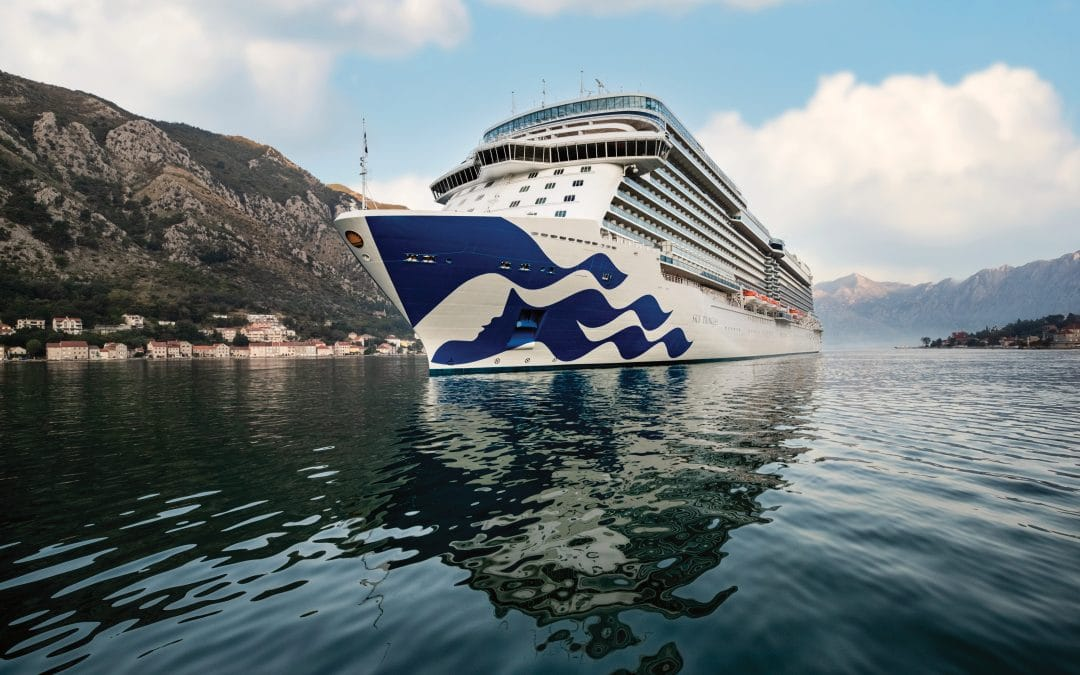 A closer look at Sky Princess and how you could cruise on her for FREE