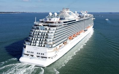Sky Princess sets sail with guests onboard for the first time in over 17 months
