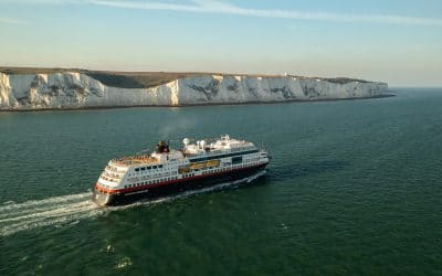 First-ever Hurtigruten Expeditions UK sailing departs from Dover